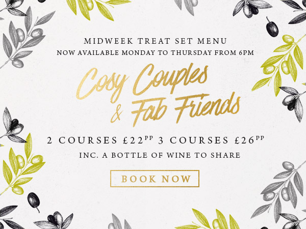 Midweek treat at The Swan - Book now